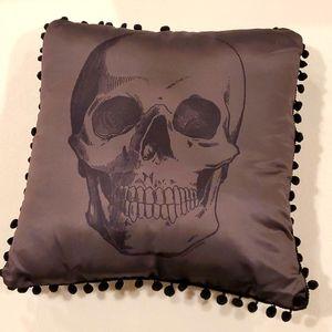Sourpuss Skull Pillow